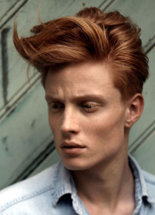 mens-Copper-Brown-hair-Shade Best 20+ Hair Colors for Men in 2018