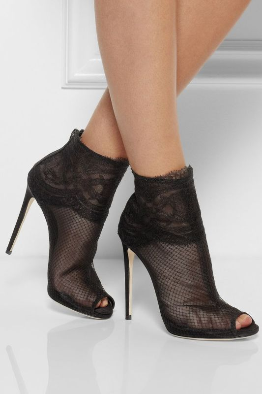 mesh-boots-4 24+ Most Stylish Boot Trends for Women in 2020