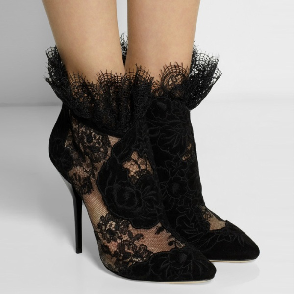 mesh-boots-6 24+ Most Stylish Boot Trends for Women in 2020