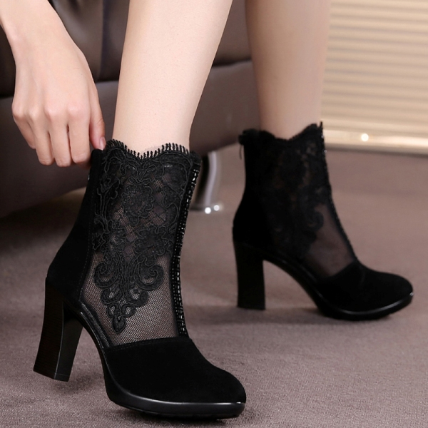 mesh-boots-8 24+ Most Stylish Boot Trends for Women in 2020