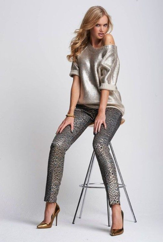 metallic-look 36+ Hottest Fashion Trends You Need to Know