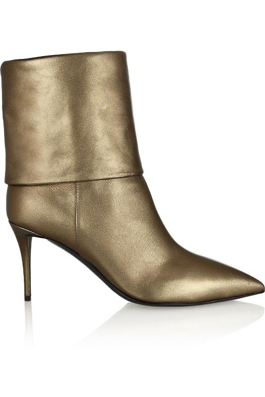 metallic-shades-2 24+ Most Stylish Boot Trends for Women in 2018
