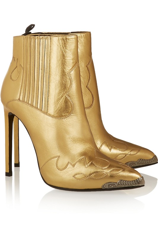 metallic-shades-3 24+ Most Stylish Boot Trends for Women in 2020