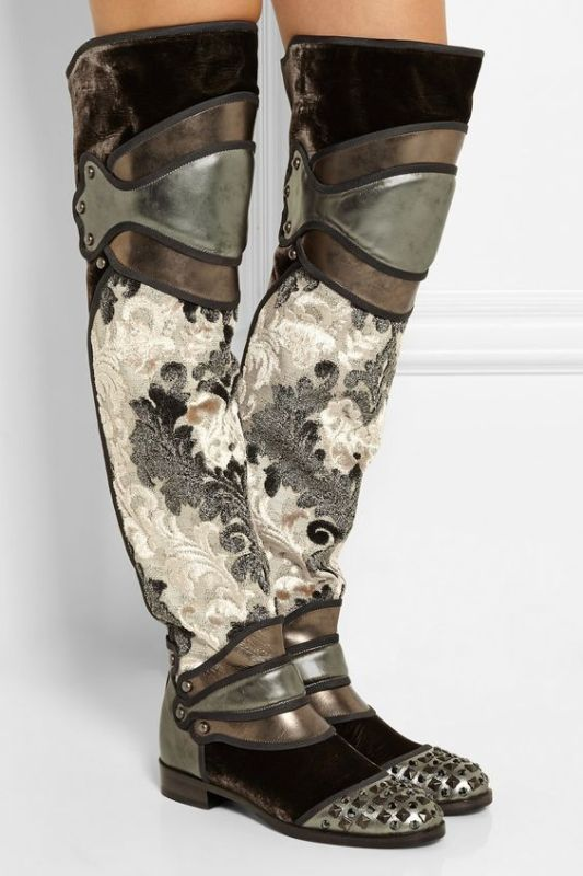 metallic-shades-7 24+ Most Stylish Boot Trends for Women in 2020