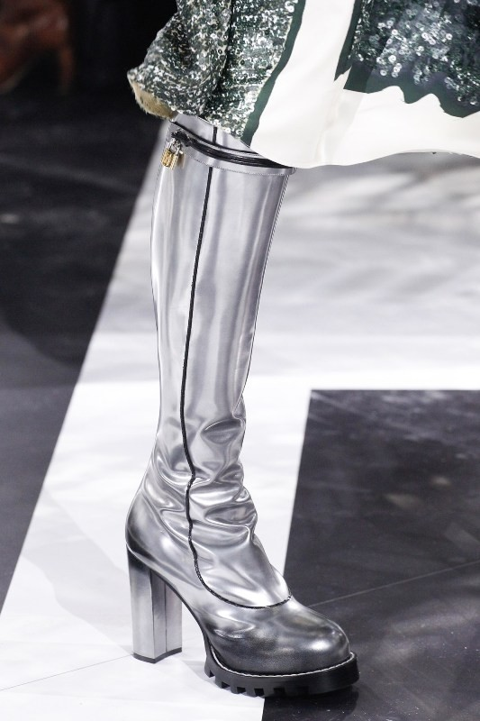 metallic-shoes 28 Catchiest Women's Shoe Trends to Expect in 2017