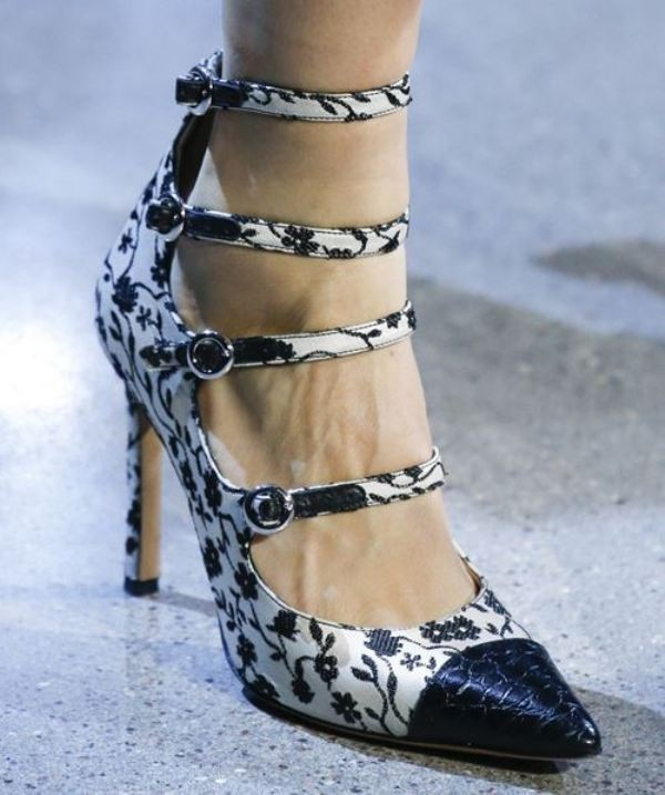 multiple-buckles-1 28+ Catchiest Women's Shoe Trends to Expect in 2020