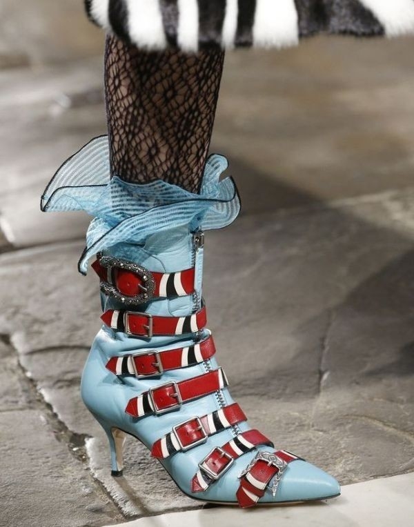 multiple-buckles 28+ Catchiest Women's Shoe Trends to Expect in 2018