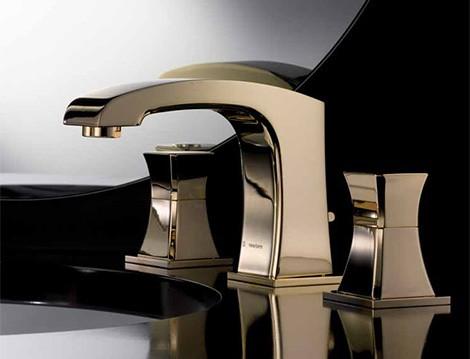 newform-gold-faucet-class-x 55 Most Famous Diamond faucets