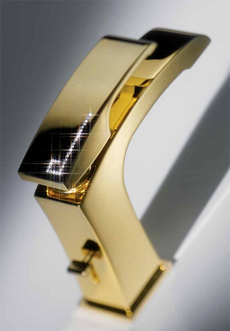 newform-swarovski-faucet-x-sense-detail 55 Most Famous Diamond faucets