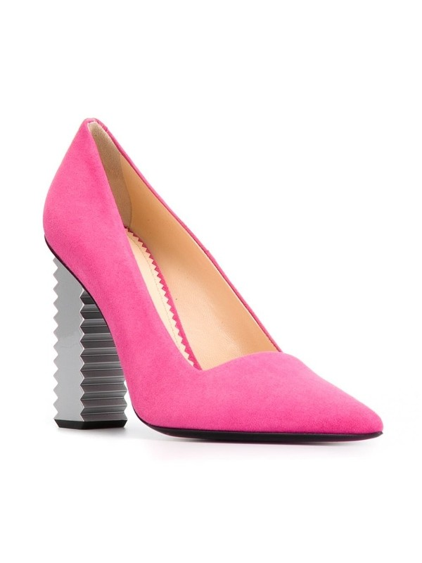 non-traditional-heels-5 28+ Catchiest Women's Shoe Trends to Expect in 2021