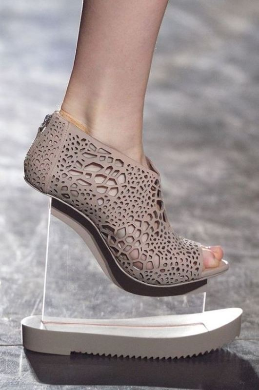 non-traditional-heels-6 28+ Catchiest Women's Shoe Trends to Expect in 2018