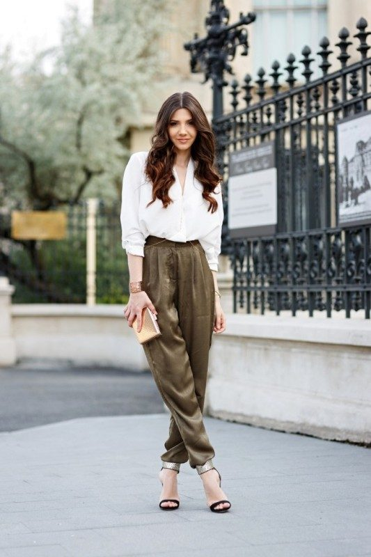 olive-green-and-khaki-outfits-10 15 Hottest Fashion Color Trends You'll Love in 2019
