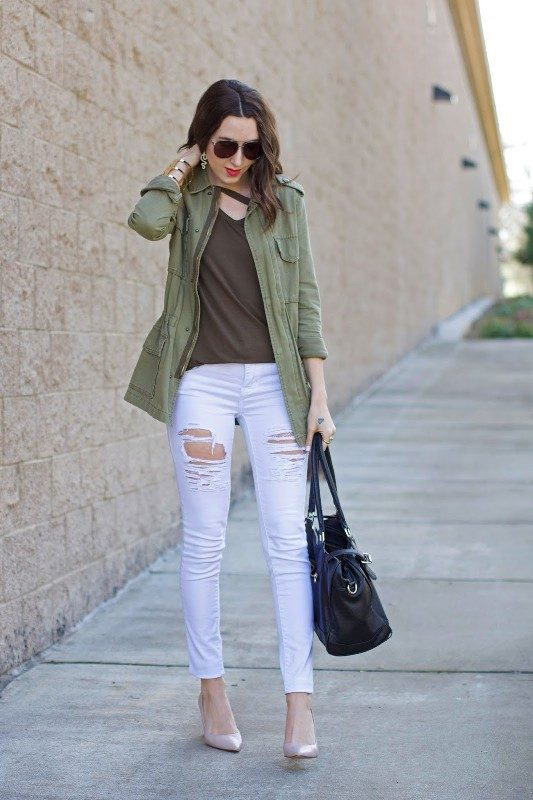 olive-green-and-khaki-outfits-2 15 Hottest Fashion Color Trends You'll Love in 2019