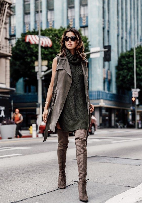 olive-green-and-khaki-outfits-5 15 Hottest Fashion Color Trends You'll Love in 2019