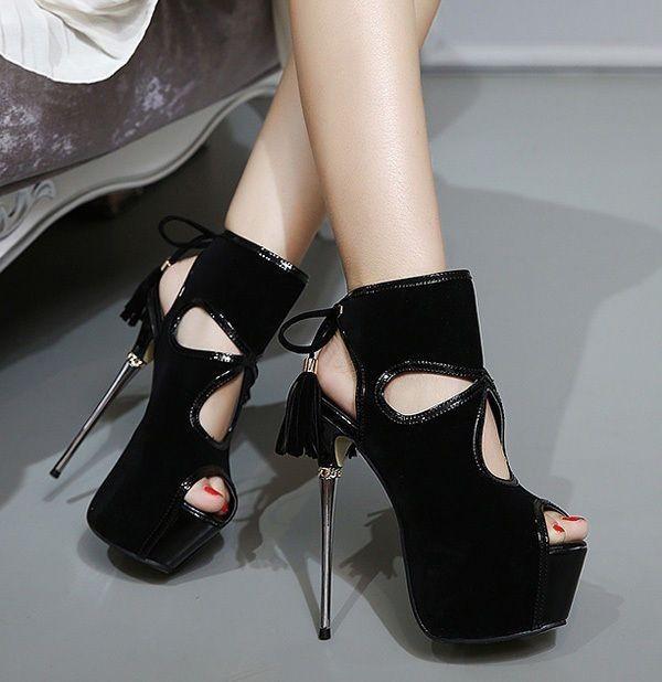 open-heels-1 28 Catchiest Women's Shoe Trends to Expect in 2017
