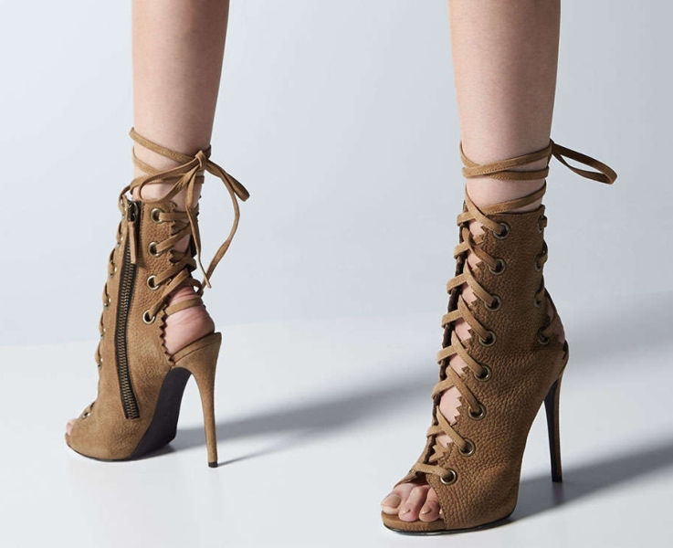 open-heels-2 24+ Most Stylish Boot Trends for Women in 2020