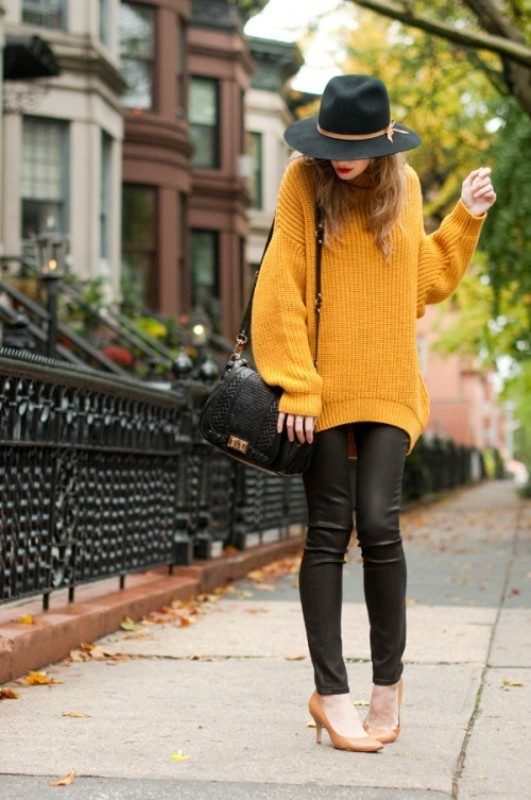 oversized-sweaters-4 Top 36 Fashion Trends You Need to Know for 2018