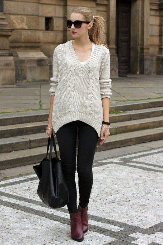 oversized-sweaters 36+ Hottest Fashion Trends You Need to Know