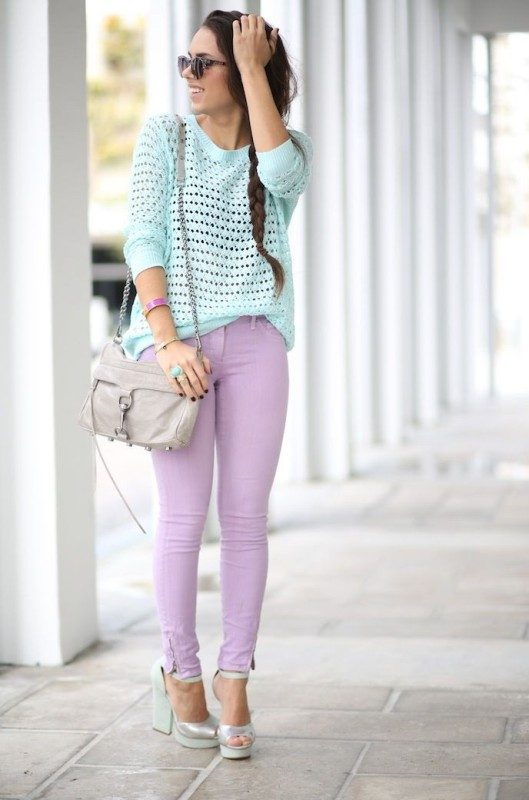 pastel-outfits-12 15 Hottest Fashion Color Trends You'll Love in 2019