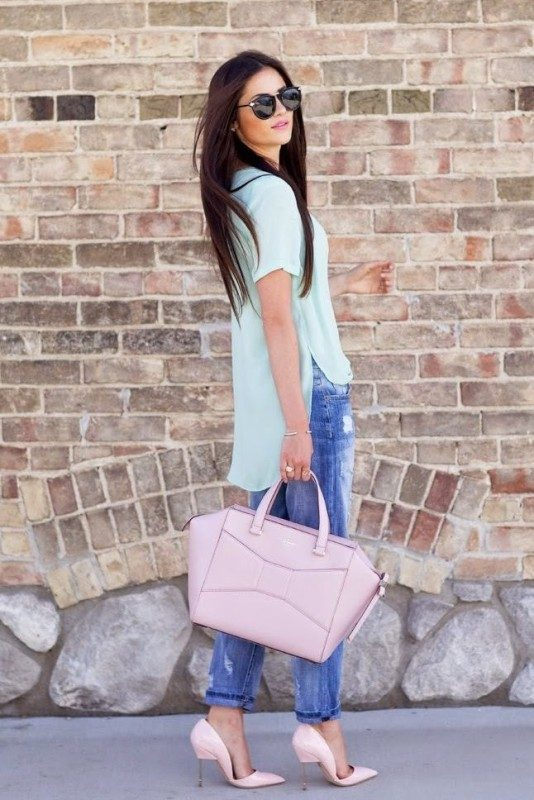 pastel-outfits-6 15 Hottest Fashion Color Trends You'll Love in 2020