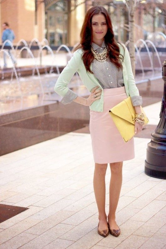 pastel-outfits-8 15 Hottest Fashion Color Trends You'll Love in 2019