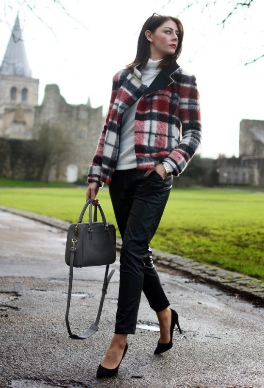 plaids-and-checks-5 14 Latest Print Trends for Women in 2017