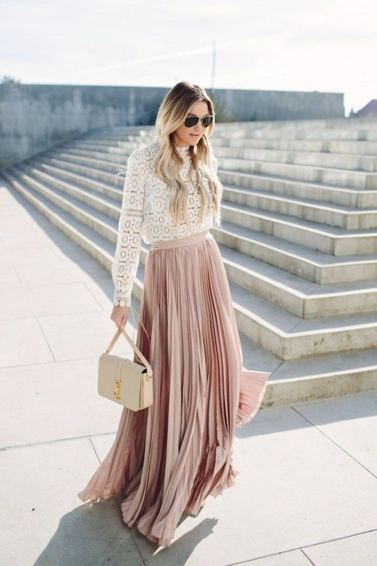 pleated-skirts-and-dresses-2017-1 36+ Hottest Fashion Trends You Need to Know