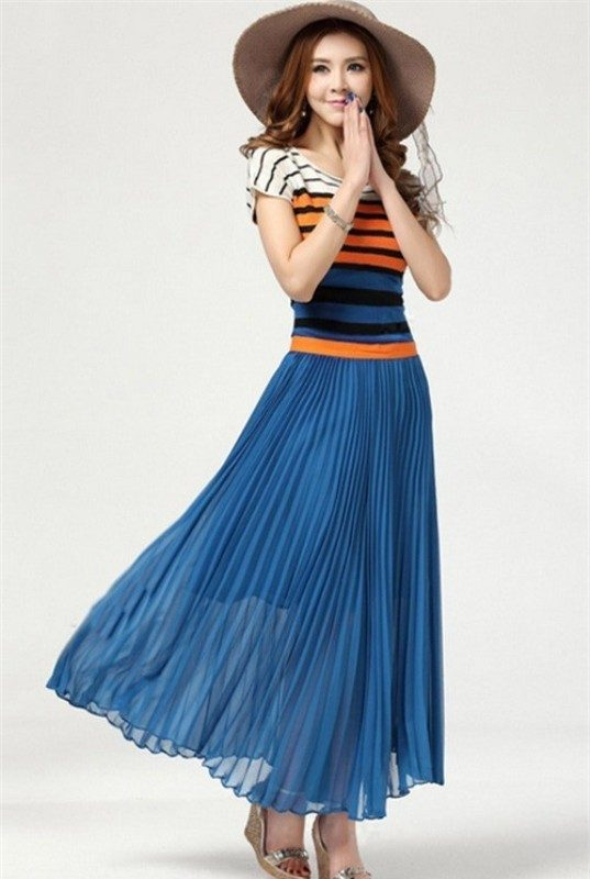 pleated-skirts-and-dresses-2017-2 36+ Hottest Fashion Trends You Need to Know