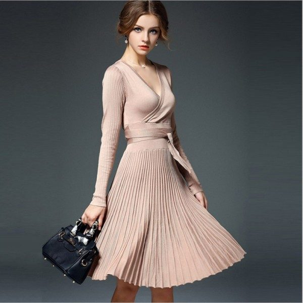 pleated-skirts-and-dresses-2017-5 36+ Hottest Fashion Trends You Need to Know