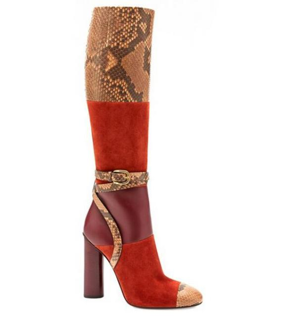 reptile-skin-boots-3 24+ Most Stylish Boot Trends for Women in 2020