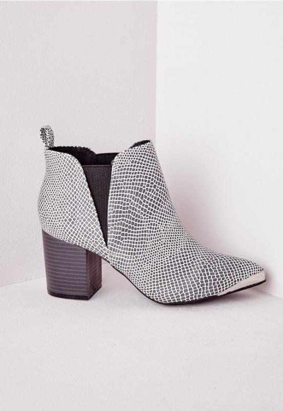 reptile-skin-boots 24+ Most Stylish Boot Trends for Women in 2018