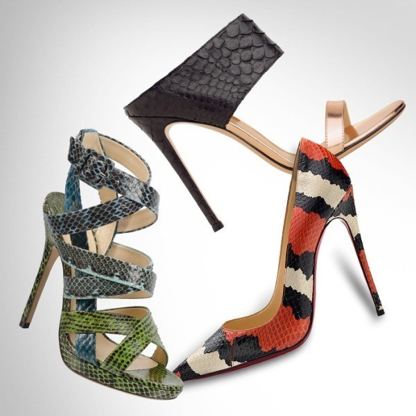reptile-skin-shoes-4 28+ Catchiest Women's Shoe Trends to Expect in 2021
