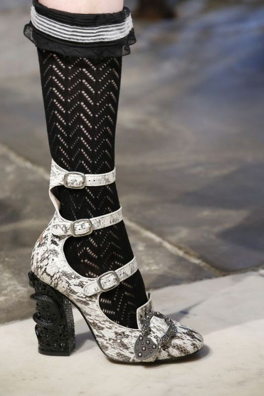 reptile-skin-shoes 28+ Catchiest Women's Shoe Trends to Expect in 2020