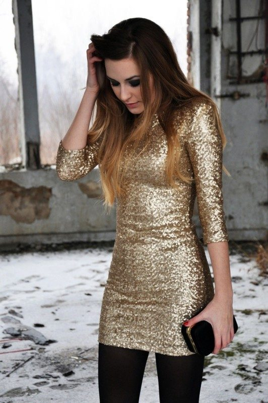 sequined-outfits-1 36+ Hottest Fashion Trends You Need to Know
