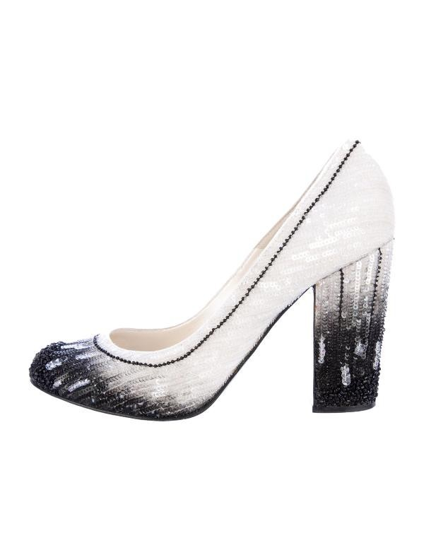 sequined-shoes-2 28 Catchiest Women's Shoe Trends to Expect in 2017