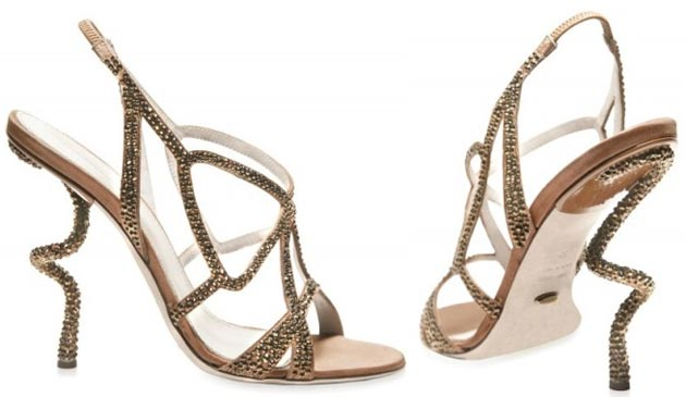 serrgio-rossi-spiral-heels 5 Upcoming Shoes Trends for Women in 2020