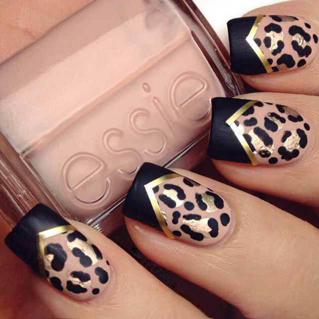 space10a 6 Most Stylish Leopard and Cheetah Nail Designs