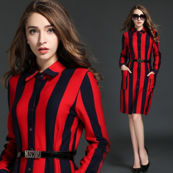 stripes-10 14 Latest Print Trends for Women in 2017