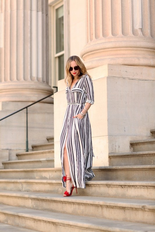 stripes-5 14+ Latest Print Trends for Women in 2020