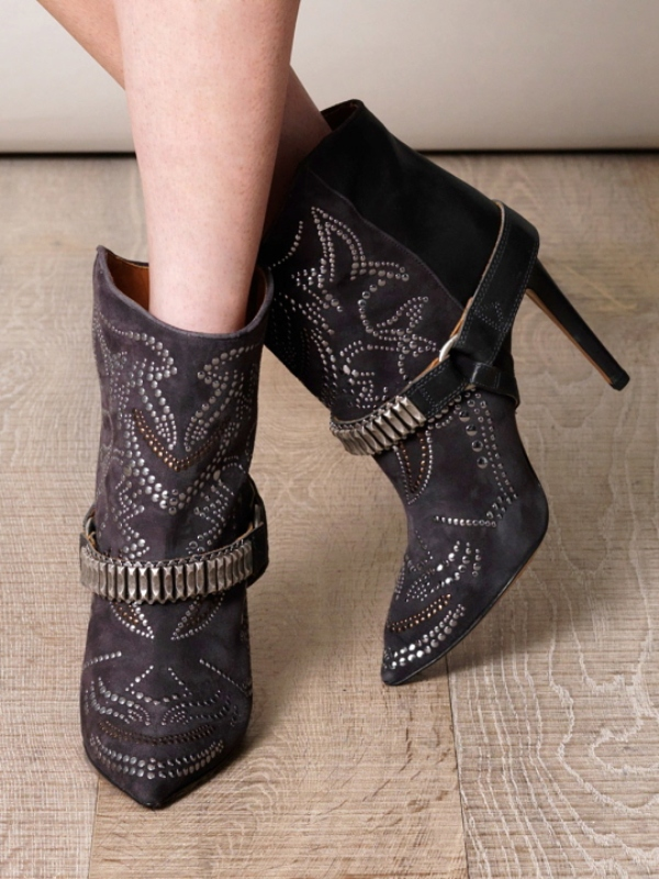 studded-boots-4 24+ Most Stylish Boot Trends for Women in 2018