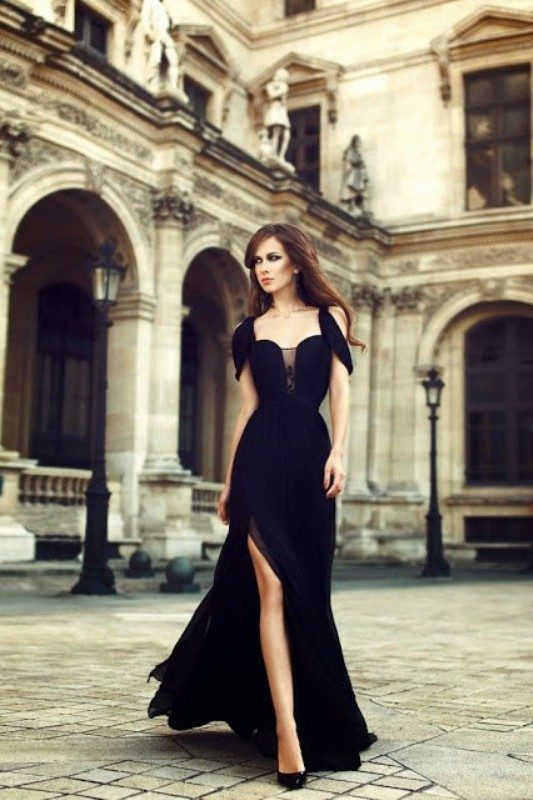 stunning-black-dresses-and-outfits-3 15 Hottest Fashion Color Trends You'll Love in 2019