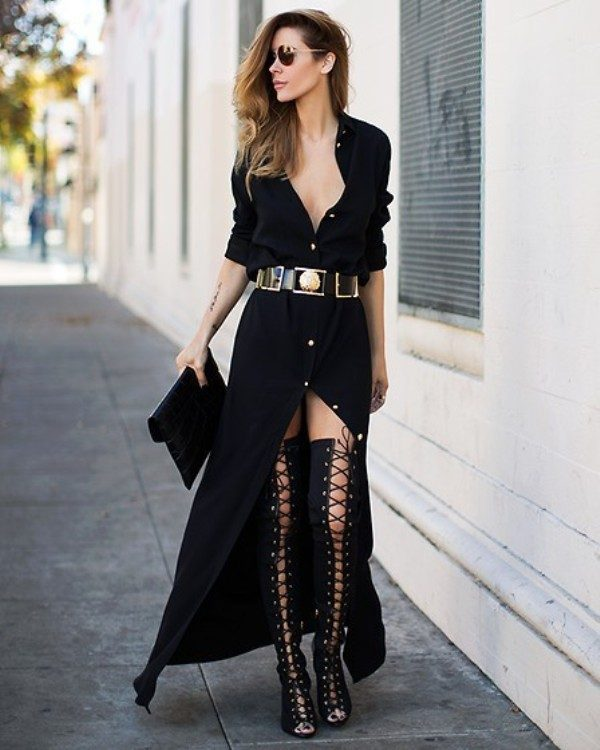 stunning-black-dresses-and-outfits-8 15 Hottest Fashion Color Trends You'll Love in 2019