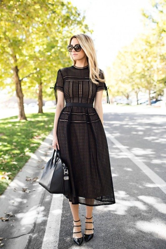 stunning-black-dresses-and-outfits-9 15 Hottest Fashion Color Trends You'll Love in 2019