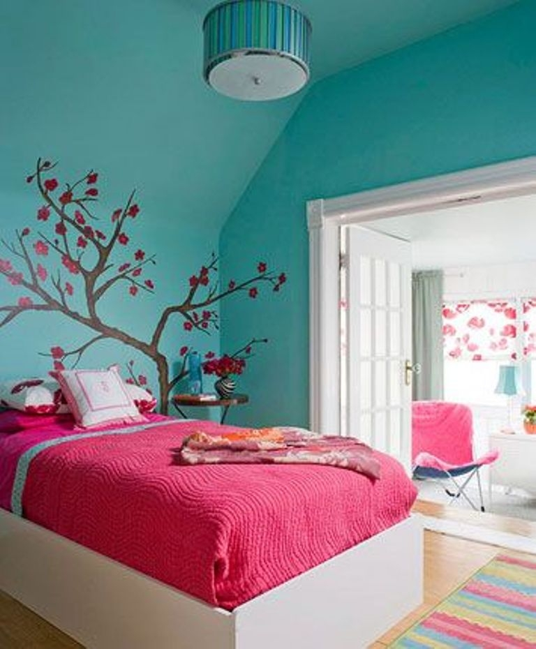 stylish-paint-colors-for-bedrooms-for-teenagers-ideas-pink-colors-for-bedroom-pink-colors-for-bedroom 5 Main Bedroom Design Trends For 2017