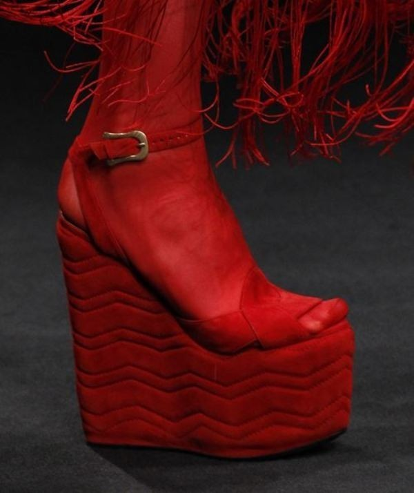 super-high-platforms 28+ Catchiest Women's Shoe Trends to Expect in 2021