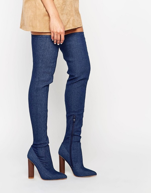 thigh-high-boots-5 24+ Most Stylish Boot Trends for Women in 2020