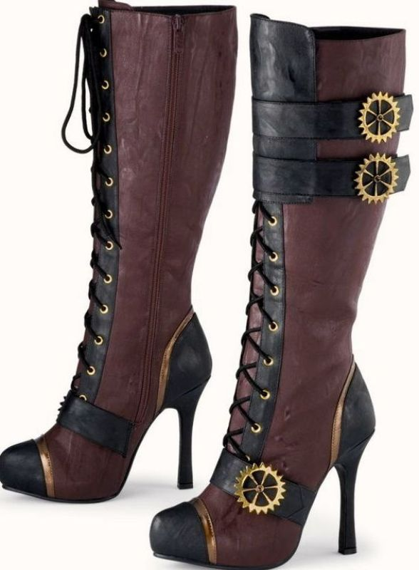 using-buckles-3 24+ Most Stylish Boot Trends for Women in 2020