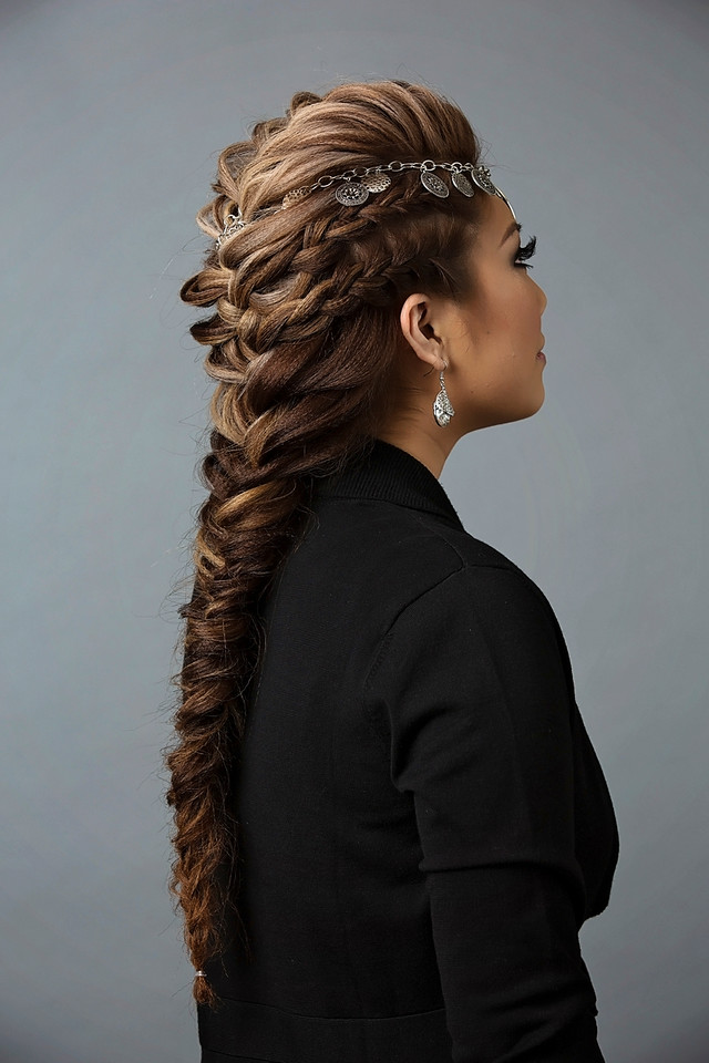 08-lala-mohawk-braid Most Trendy Classic Prom Hairstyles of Long Hairs