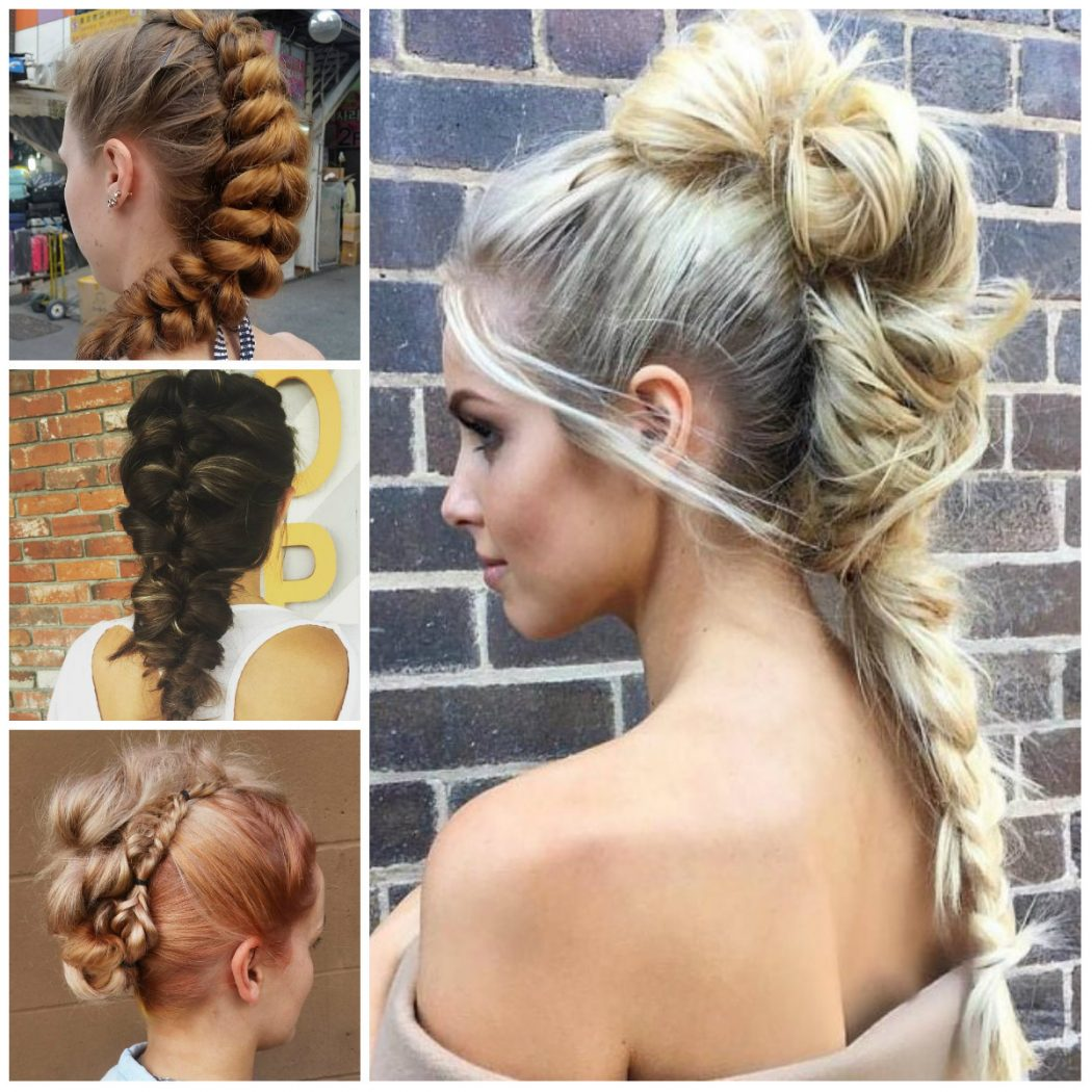 2017-Braided-Mohawk-Hairstyles Most Trendy Classic Prom Hairstyles of Long Hairs