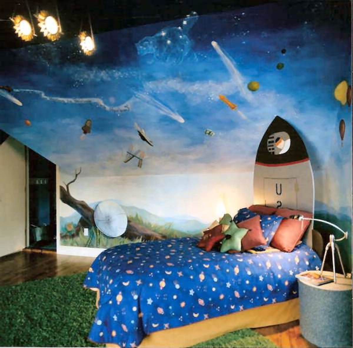237ad05575917b5f9f9889f2c5a9abb6 +25 Marvelous Kids' Rooms Ceiling Designs Ideas